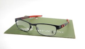 OAKLEY Carbon Plate Black Ferrari Red 53