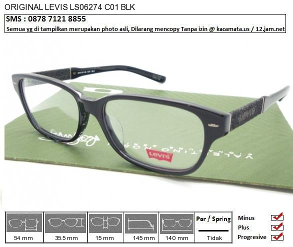 LEVIS LS06274 C01 BLK