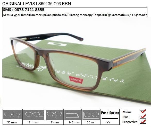LEVIS LS60136 C03 BRN