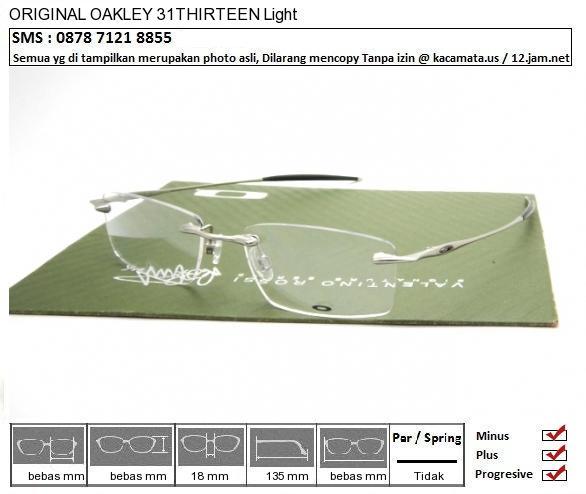 OAKLEY 31THIRTEEN Light