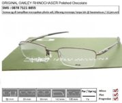 OAKLEY RHINOCHASER Polished Chocolate