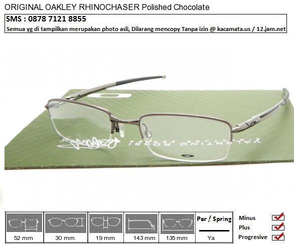 OAKLEY RHINOCHASER Polished Chocolate