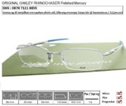 OAKLEY RHINOCHASER Polished Mercury