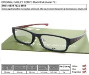 OAKLEY SERVO Black Brick (Asian Fit)