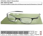 OAKLEY Wiretap Black