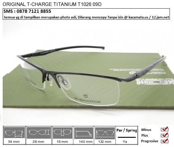 T-CHARGE TITANIUM T1026 09D