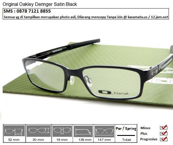 Oakley Deringer Satin Black