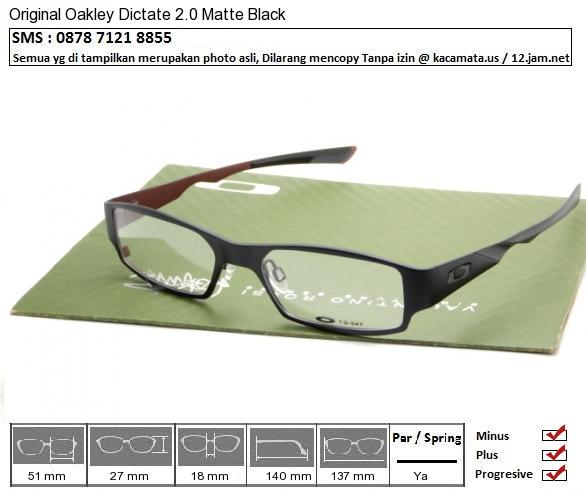 Oakley Dictate 2.0 Matte Black