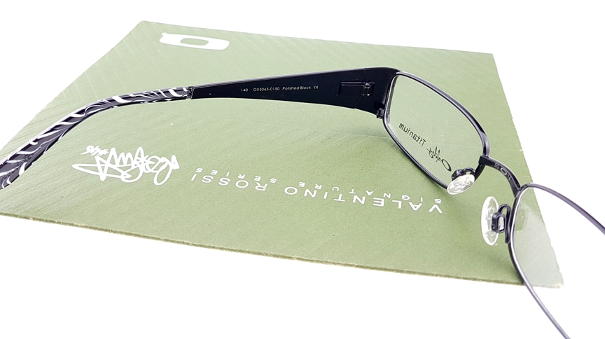 Oakley Titanium Anecdote  OX5065 0150 Polished Black