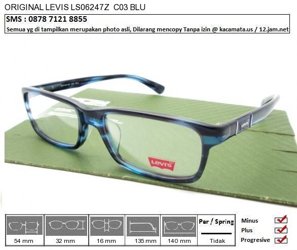LEVIS LS06247Z C03 BLU