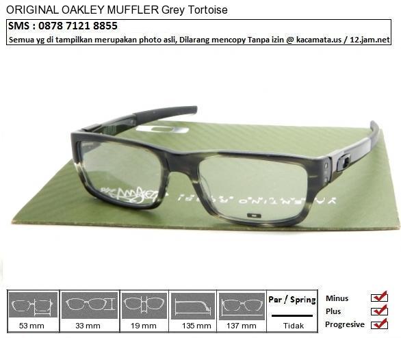 OAKLEY MUFFLER Grey Tortoise