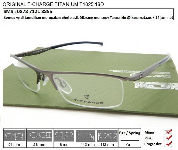 T-CHARGE TITANIUM T1025 18D