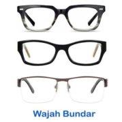 Kacamata untuk wajah bulat