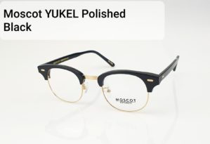 Moscot Yukel Polished Black Gold