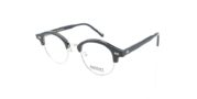 Moscot Aidim Polished Black Silver
