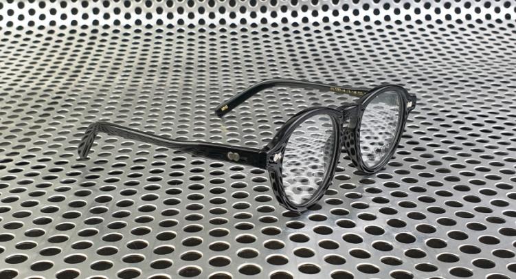 Kacamata Moscot Miltzen Polished Black