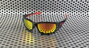Sunglass Oakley Scalpel Polished Black Ducati Lens Fire